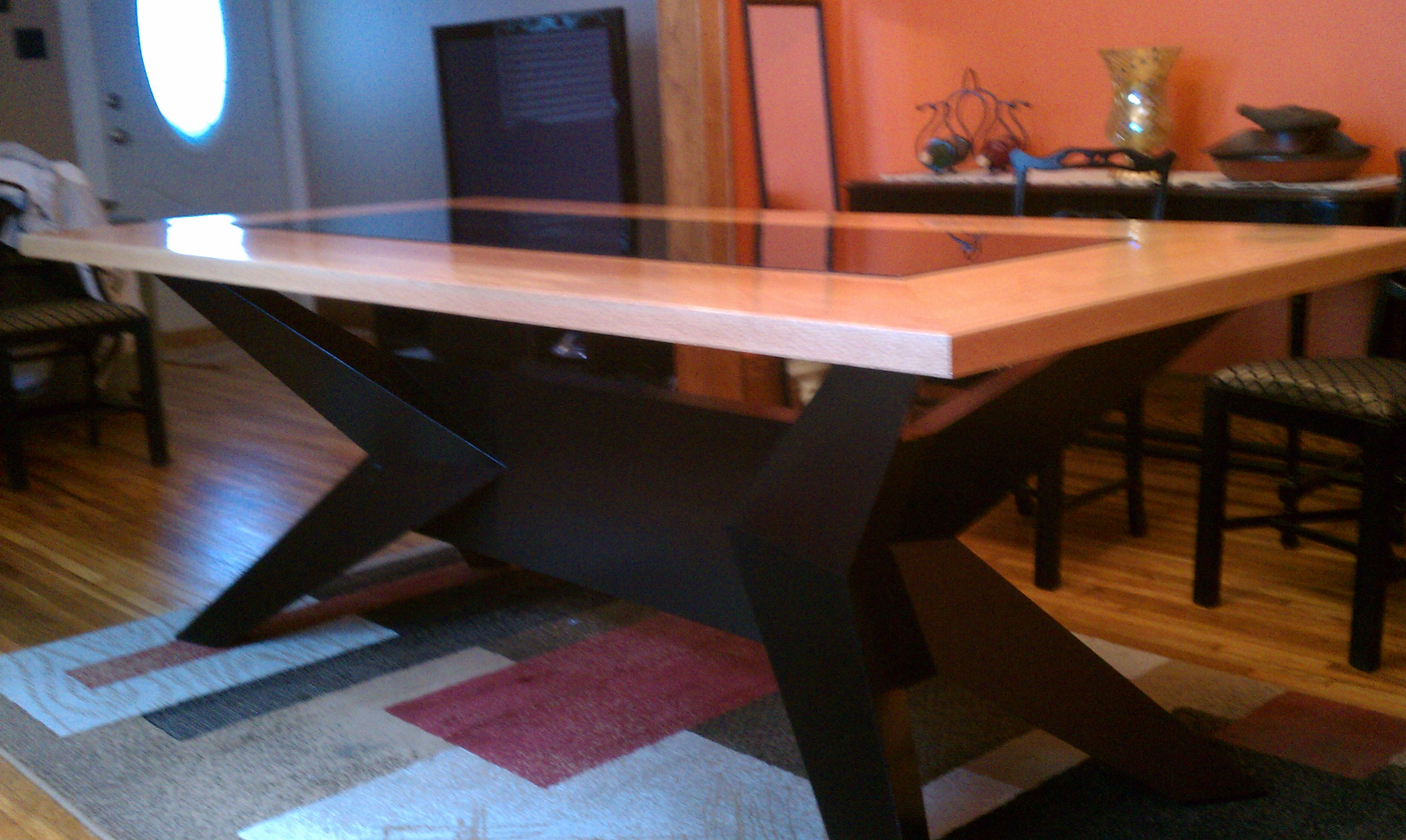High End Custom Dining Table EJK Custom Remodeling - Custom dining room table and chairs