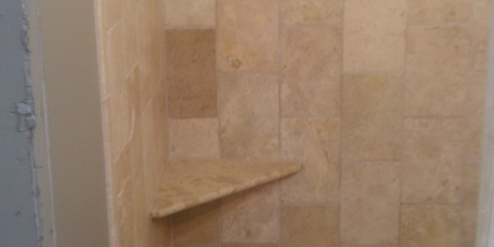 Shower with Tile Surround