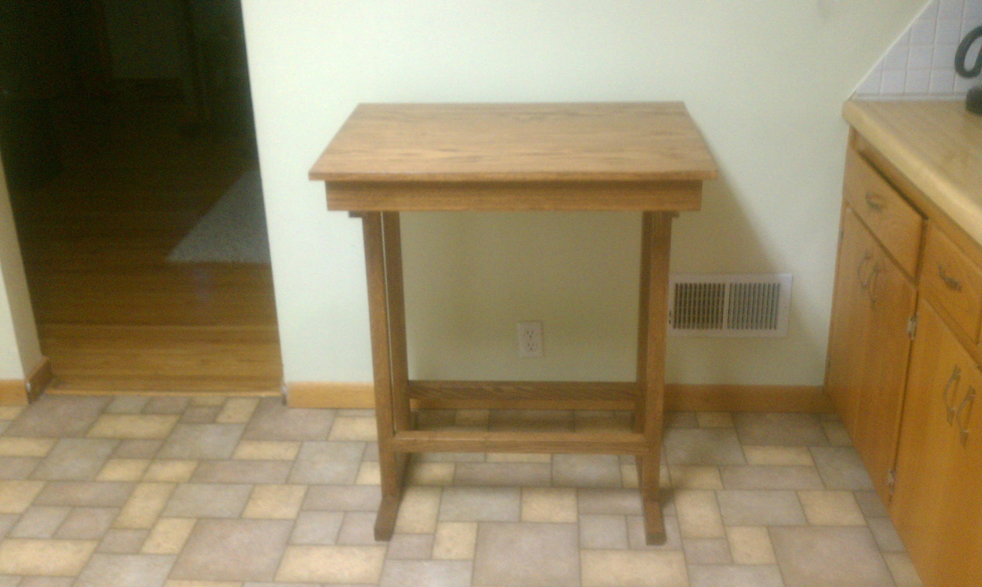 Pantry Table With Extension Ejk Custom Remodeling