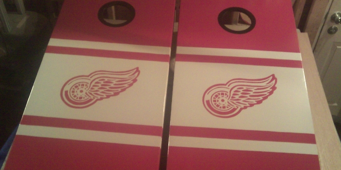 Detroit Red Wings Bags Boards