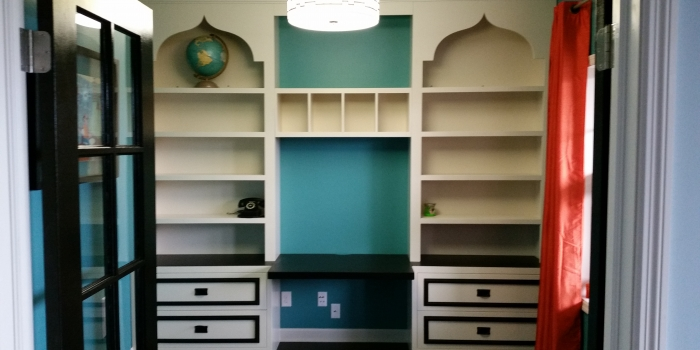 Built-in Bookshelf